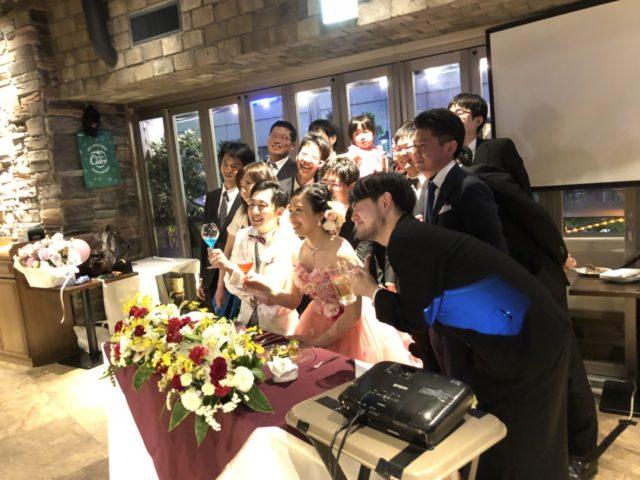 銀座,結婚式二次会,会場